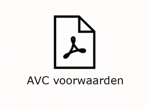 AVC voorwaarden