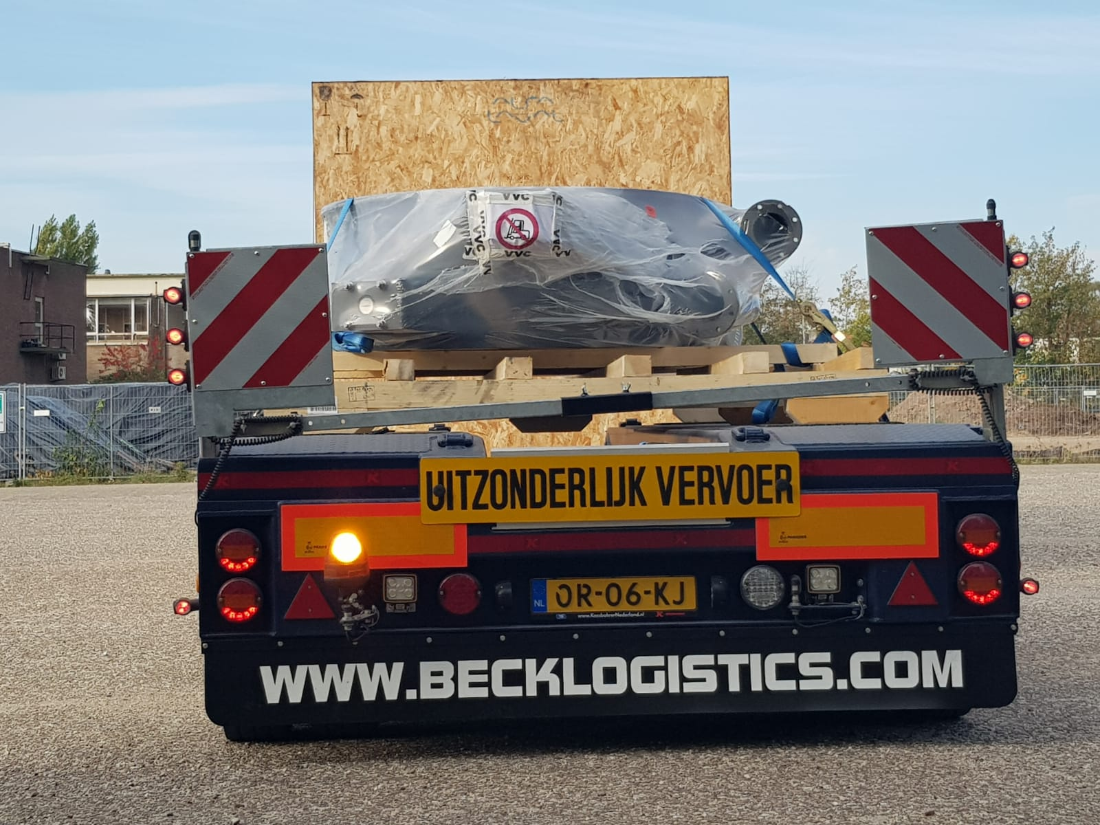1 Beck Logistics exceptioneel transport